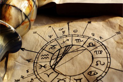 11279843-ancient-hand-drawn-horoscope-with-zodiac-signs