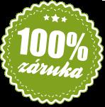 100% záruka spokojenosti